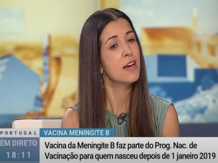 Vacinação Meningite B - RTP1, Portugal em Direto